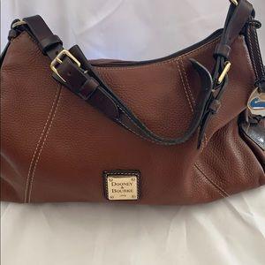 Dooney and bourke medium saddle brown bag